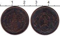 Каталог монет - монета  Аргентина 1 десимо