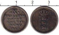 Каталог монет - монета  Датская Вест-Индия 10 скиллингов