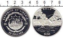 Каталог монет - монета  Либерия 20 долларов