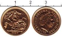Каталог монет - монета  Великобритания 1/2 соверена