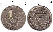 Каталог монет - монета  Кипр 25 центов