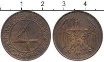 Каталог монет - монета  Третий Рейх 4 пфеннига