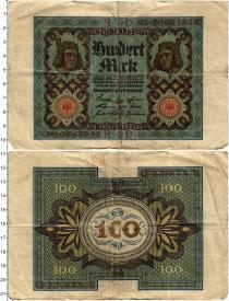 Продать Банкноты Веймарская республика 100 марок 1920