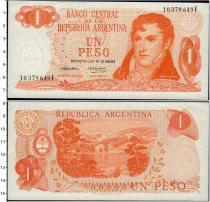 Продать Банкноты Аргентина 1 песо 1974