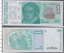 Продать Банкноты Аргентина 1 аустралес 0
