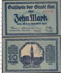 Продать Банкноты Веймарская республика 10 марок 1918