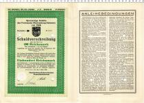 Продать Банкноты Веймарская республика 100 марок 1928