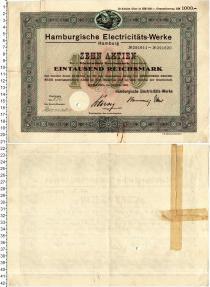 Продать Банкноты Веймарская республика 1000 марок 1931