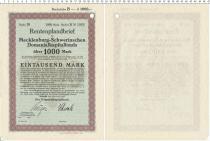 Продать Банкноты Веймарская республика 1000 марок 1919
