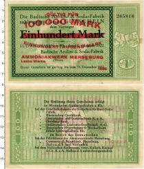 Продать Банкноты Веймарская республика 100000 марок 1922