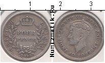 Каталог монет - монета  Британская Гвиана 4 пенса