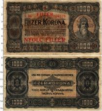 Продать Банкноты Венгрия 1000 крон 1923