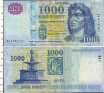 Продать Банкноты Венгрия 1000 форинтов 2015