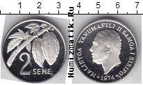 Каталог монет - монета  Самоа 2 Сене