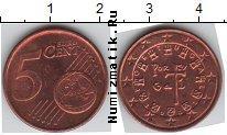 Каталог монет - монета  Португалия 5 евроцентов