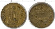 Каталог монет - монета  Индия 20 пайс