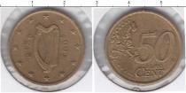 Каталог монет - монета  Ирландия 50 евроцентов