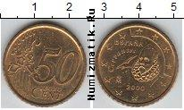 Каталог монет - монета  Испания 50 евроцентов