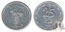 Каталог монет - монета  Израиль 25 шекелей