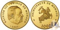 Каталог монет - монета  Монако 100 евро