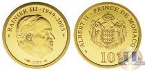 Каталог монет - монета  Монако 10 евро