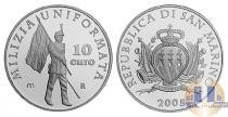 Каталог монет - монета  Сан-Марино 10 евро