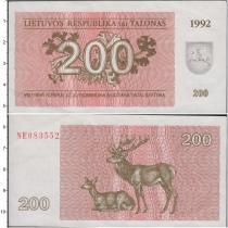 Продать Банкноты Литва 10 франков 1992