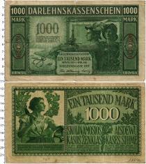 Продать Банкноты Литва 1000 марок 1918