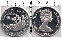 Продать Монеты Каймановы острова 10 долларов 1982 Серебро