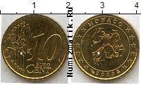 Каталог монет - монета  Монако 10 евроцентов