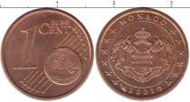 Каталог монет - монета  Монако 1 евроцент