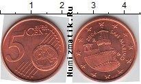 Каталог монет - монета  Сан-Марино 5 евроцентов