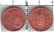 Каталог монет - монета  Сан-Марино 2 евроцента