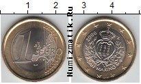 Каталог монет - монета  Сан-Марино 1 евро
