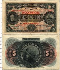 Продать Банкноты Мозамбик 5 эскудо 1921