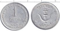 Каталог монет - монета  Израиль 1 прута