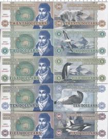 Продать Банкноты Остров Буве Набор из 5 бон 0