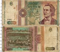 Продать Банкноты Румыния 1000 лей 1991