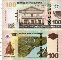 Продать Банкноты Суринам 100 долларов 2012