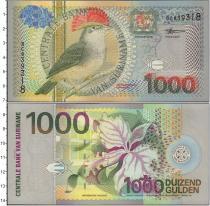 Продать Банкноты Суринам 1000 гульденов 2000