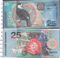 Продать Банкноты Суринам 25 гульденов 2000