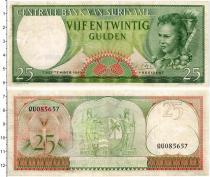 Продать Банкноты Суринам 25 гульденов 1963
