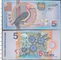 Продать Банкноты Суринам 5 гульденов 2000