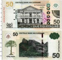 Продать Банкноты Суринам 50 долларов 2010