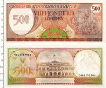 Продать Банкноты Суринам 500 гульденов 1982