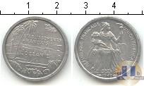 Каталог монет - монета  Океания 1 франк