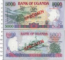 Продать Банкноты Уганда 5000 шиллингов 2000