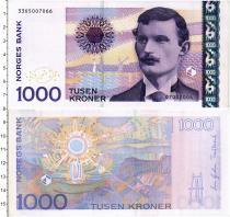Продать Банкноты Норвегия 1000 крон 2004