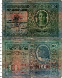 Продать Банкноты Венгрия 100 крон 1912