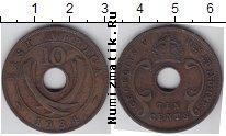 Каталог монет - монета  Восточная Африка 10 пенсов